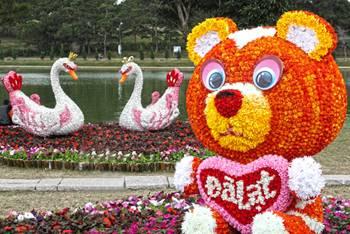 Khai mạc Lễ hội mùa đông ở Đà Lạt